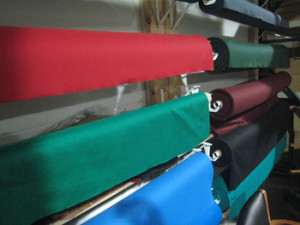 Valdosta pool table recovering table cloth colors